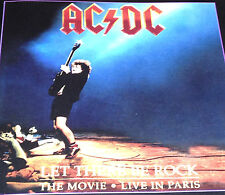 AC/DC Let There Be Rock The Movie Live In Paris CD Rare 1997 Highway To Hell