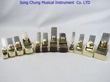 12pcs different Mini brass planes, (4 convex+4 flat+4 brass wrap blackwood)