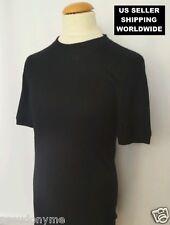 $2K+ Millionaire Cashmere GIORGIO ARMANI BLACK LABEL Black T-Shirt Make An Offer