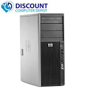 HP Z420 Workstation Desktop Computer PC Intel Xeon 2.8GHZ 8GB 1TB Win10 Pro