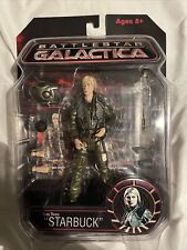 "Battlestar Galactica Kara Thrace ""Starbuck� Action Figure With Accessories"