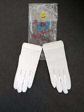 "Children Girls 6.25/"" Fancy Dress Pink Gloves New Stone Rhinestone Princess Child"