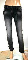 Jeans Uomo Pantaloni CRANBERRY Slim Fit SA295 Nero Tg 46 48