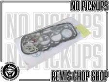 Mazda 1200 1169cc Valve Regrind Engine Gasket Set NOS Parts H Remis Chop Shop