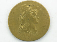 1803 HALF EAGLE GOLD TONE PATTERN, COUNTER TOKEN