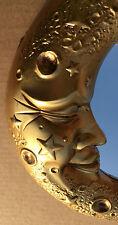 Luz De Luna Espejo pared en dorado 32 diámetro nuevo emb. orig. muy Discreto
