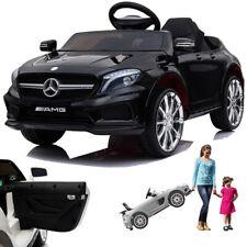 Simron Mercedes-Benz AMG GLA45 Kinderauto mit Tür - Schwarz