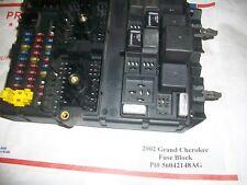 TESTED 2002 Jeep Grand Cherokee 4.0L Interior Main Fuse & Relay Box  56042148AG