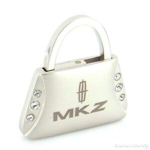 Lincoln MKZ Purse Shape Keychain (Chrome)