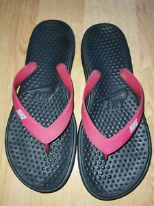 nike all rubber sandals