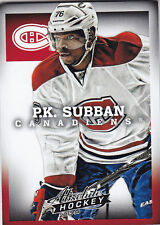 2013-14 PANINI ABSOLUTE BOXING DAY P.K. SUBBAN THICK #8 13-14