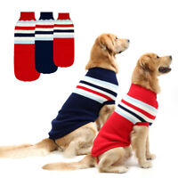 Dog Jumper Knitted Sweater Small Large Dogs Pet Puppy Dog Clothes Jumpsuit Coats