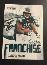 2010 Score Franchise LeSean McCoy #7 Eagles