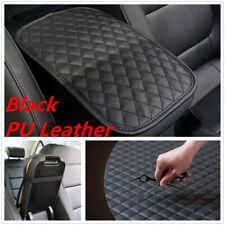 Universal Car SUV Black PU Leather Center Console Armrest Box Protector Cushion