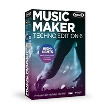 MAGIX Music Maker Techno Edition 6 - NEU & OVP