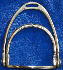 Side Saddle Stirrup Steigbügel Damensattel Messing Sicherheitssteigbügel Damen