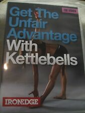 """NEW"" WEIGHT TRAINING DVD ""GET THE UNFAIR ADVANTAGE WITH KETTLEBELLS FOR WOMEN"""