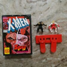 Marvel X-Men Pocket Comics Spy Mission Playset Toy Biz 1994 Wolverine