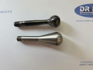 Teardrop bolt handle stainless steel fits Theoben Rapid MK1 and MK2