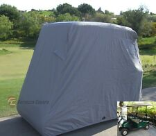 Golf cart 4 passenger storage cover for EZGO, Club car and Yamaha in Taupe