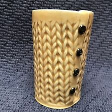 Charan Sachar Vase Cup Mug Knitted Design Rare