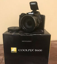 Nikon Coolpix B600 16MP Digital Camera 60x Optical Zoom Black Full HD Black-USED