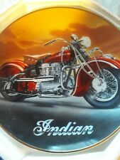 Royal Doulton Plate The 1942 Indian 442 Motorcycle Limited Edition w/Coa New