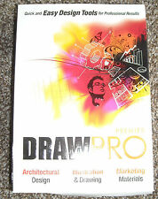 Draw Pro Premier Design for Windows New Sealed