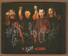 EYE EMPIRE cd Moment Of Impact Limited Edition Signed AUTO #1623/2000 METAL 2012