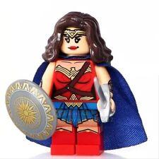 WONDER WOMAN CUSTOM BUILDING BRICKS MINIFIGURE - DC COMICS