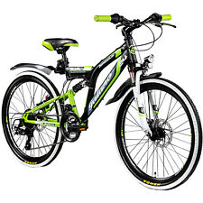 Mountainbike Fully 24 Zoll MTB Full Suspension Galano Adrenalin DS Jugendfahrrad