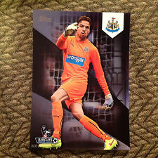 #88 Tim Krul - Newcastle United #ED/10 made 2014/15 Topps Premier Gold 5x7 BLACK