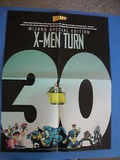 X-MEN TURNS 30 PROMO POSTER 1993 MARVEL NM/M WIZARD