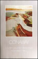 """James Conaway """"Chinle Valley"""" Vintage Fine Art Gallery Poster SUBMIT AN OFFER"""