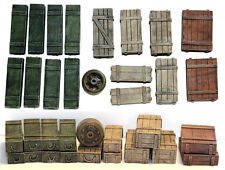 1/35 Universal Wooden Crates #5 - Value Gear Details - 16pcs Resin Stowage