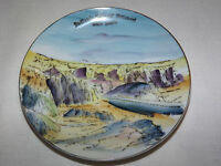 VINTAGE 1960-70S BADLANDS NATIONAL MONUMENT SOUTH DAKOTA  MINI  SOUVENIR PLATE