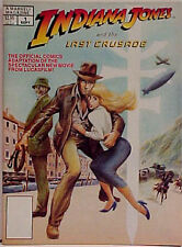Indiana Jones & Last Crusade Marvel Comic Special Magazine #1- Unread!