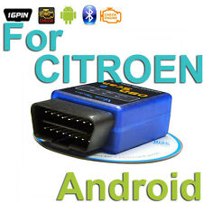 OBD 2 Android Scanner Diagnostics Reader Wireless Bluetooth Tool For CITROEN