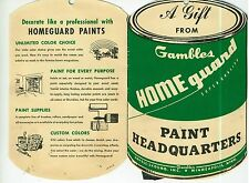 Vintage Gambles of Minneapolis Needle Book - Paint Can Theme