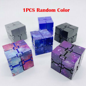 Fidget Toy Creative Infinite Cube Magic Cube Office Flip Cubic Puzzle Stop Stres