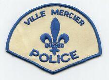 Ville Mercier Police, Quebec, Canada HTF Vintage Uniform/Shoulder Patch