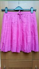 TOPSHOP - Pink Mini Pleated Skirt - UK 10