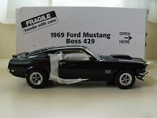 DANBURY MINT - 1969 FORD MUSTANG BOSS 429 - 1/24 DIECAST MODEL