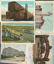 LOT of 9 WASHINGTON Cards~Spokane/Seattle/Bellingham/Rainier MORE