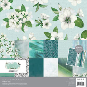 KaiserCraft Morning Dew12x12 Paper Pack Collection Wedding Spring