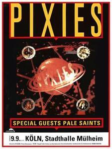 Pixies - LARGE POSTER - BossaNova live Germany Black Francis Kim Deal wall art