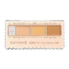 Canmake Color Mixing Concealer Handy Three Shade Spf50 PA From Japan 01 Light Beige