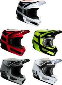 Fox Racing Youth V2 Helmet - MX Motocross Dirt Bike Off-Road ATV MTB Boys Girls
