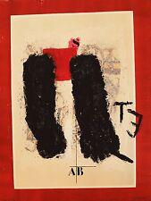 """COIGNARD James """"E.T"""" Gravure au carborundum signée et numérotée"""