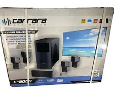 Carrara Acoustics C-2000 Surround Sound 5.1 Home Theater System New In Box